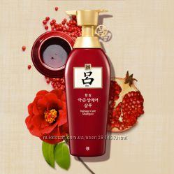 Шампунь RYO Hambit Damage Care Shampoo с маслом камелии 500мл