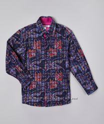 Рубашка на мальчика клубная, Isaac Mizrahi NY, на 14-16лет, 164-170см, хлоп