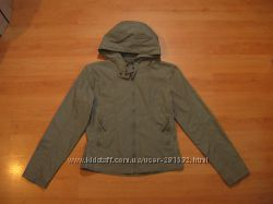 Женская куртка ветровка с капюшоном ORSAY, р-р S, 100 cotton, как новая