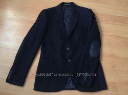 Пиджак школьный на мальчика 16-17лет, Турция, притален, полушерсть фактурна