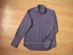 Мужская рубашка под запонки NEXT р-р 15, 100 хб