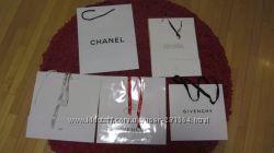 Коробки пакеты  Dior, Guerlain и др