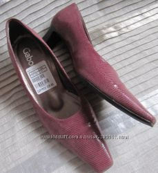 Туфли женские лазерная кожа Gabor Австрия 5