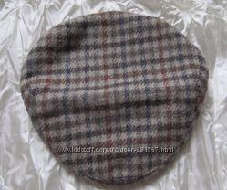 Кепка Шапка шерсть твидовая маленький объем Exclusive Tweedmill 52 см