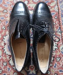 Туфли черные мужские кожаные sublimio италия 27 см р-р 7 41