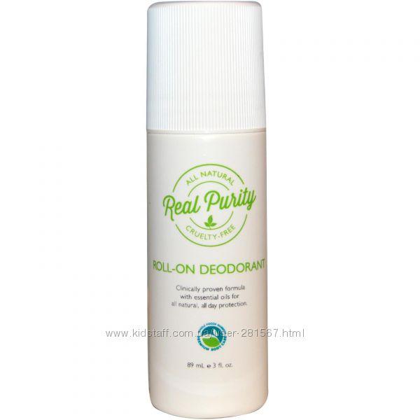 Дезодорант натуральный Real Purity США самый эффективный без аллюминия
