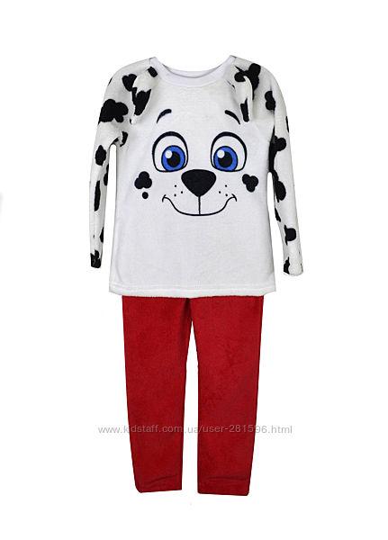 Теплая пижама Nickelodeon 98-104, 110-116, 122-128р в подарочной упаковке