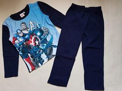 Пижама флис Disney 104-110, 116-122р - разные