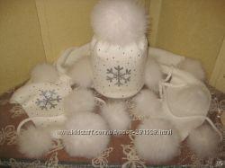 Обалденные зимние наборы для девчушек от Panama-Mama