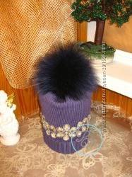 Весенние шапочки для маленьких модниц от Panama-Mama