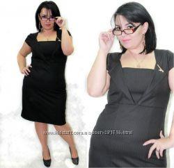 красивое и стильное платье, р 52
