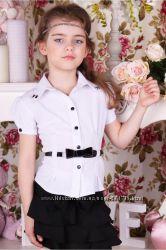 школьная блузка, р146