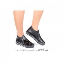 Ботинки Classic Fashion 0722 . Натуральная кожа и замша. Все размеры.