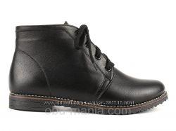 Зимние ботинки CF2141. Натуральная кожа и замша, зима Все размеры.