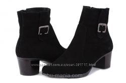 Кожаные ботинки Classic Fashion 4002. Все размеры. Кожа, замша