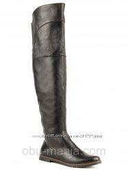 Ботфорты Classic Fashion 2702. Кожа замша. все размеры