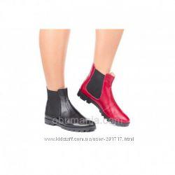 Кожаные Ботинки Classic Fashion 2316 . Натуральные кожа. Все размеры