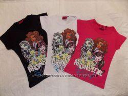 Лицензионные футболки Monster High для девочек 110-152 см