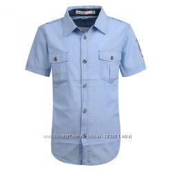 Рубашки для мальчиков венгрия и италия 98-140 см