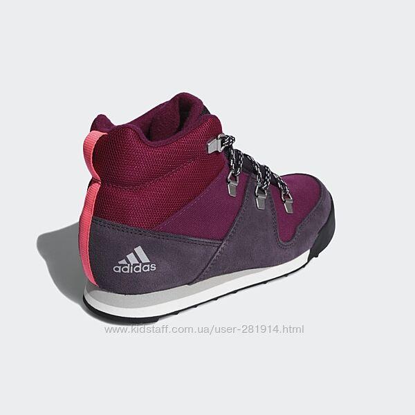 Зимние ботинки, крассовки Adidas SNOWPITCH K , US1, US2.5, US3