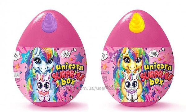 Яйцо - сюрприз для девочек Unicorn Surprise Box