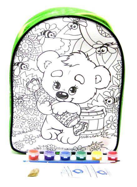 Набор для творчества My Color Bag мини. Сумка - раскраска, рюкзачки