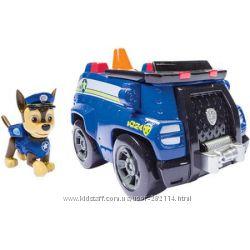 Щенячий патруль - Полицейский автомобиль с фигуркой щенка.