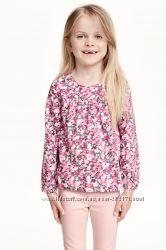 блузочки H&M 8-9 134р в отличном состоянии