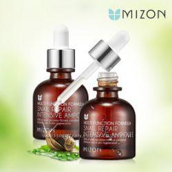 Улиточная сыворотка  MIZON  Multi Snail Repair Intensive Ampoule  30 ml