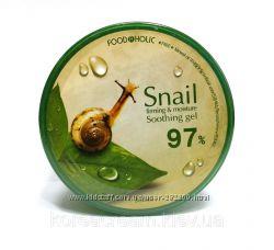 Увлажняющий антивозрастной гель FoodAHolic  эффектом лифтинга  Mucus Snail