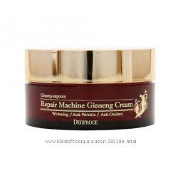 Восстанавливающий женьшеневый крем Deoproce Repair Machine Ginseng Cream