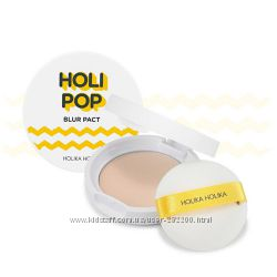 Пудра с blur-эффектом   HOLIKA HOLIKA Pop Blur Pact SPF30 PA
