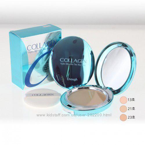 Увлажняющая пудра с коллагеном Enough Collagen Hydro Moisture Two Way