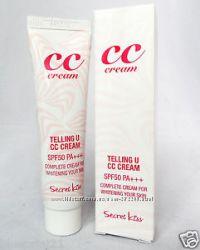 Идеальное личико  с Secret Key Telling U CC Cream SPF50 PA