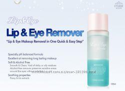 Жидкость  для удаления макияжа с глаз и губ   Etude House Lip & Eye Remover