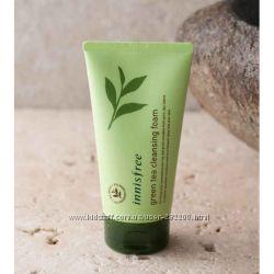 Эко-пенка для умывания INNISFREE  Green Tea Cleansing Foam
