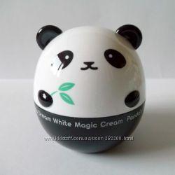 Крем выравнивающий тон кожи Tony Moly Panda Dream White Magic Cream