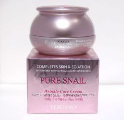 Антивозрастной улиточный крем Bergamo Pure Snail Wrinkle Care Cream