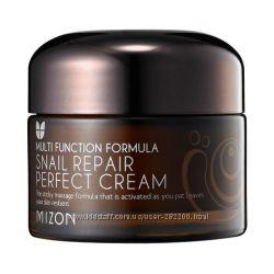 Питательный улиточный крем для лица    MIZON Snail Repair Perfect Cream