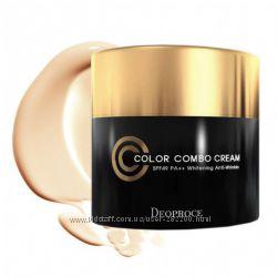 Deoproce Color Combo Cream-СС-Combo крем 4 в 1 антивозрастной