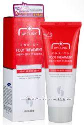 Восстанавливающий крем для уставших ног 3W Clinic Enrich Foot Treatment