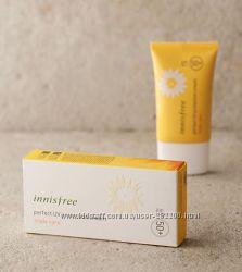 Мультифункциональный стойкий санблок Innisfree Perfect UV Triple Care SPF50