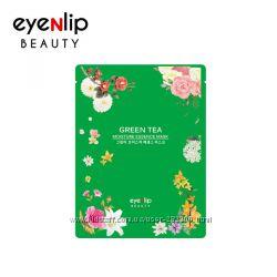 Увлажняющая тканевая маска для лица с экстрактом зелёного чая Eyenlip