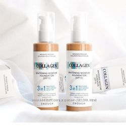 Осветляющая тональная основа с коллагеном Enough Collagen Whitening