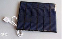 солнечная зарядка для мобильного телефона, смартфона, MP3