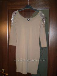 Платье с погонами от h&m