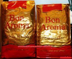 Кофе Bon Aroma - молотый и в зернах