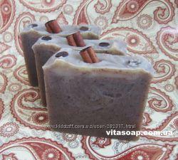 Мыло натуральное Кофе с корицей