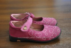 Ортопедические туфельки для девочки из нежнейшей кожи. б-у