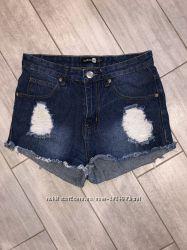Классные, идеальные, джинсовые шорты Boohoo